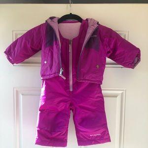 Snow pants and reversible coat set!